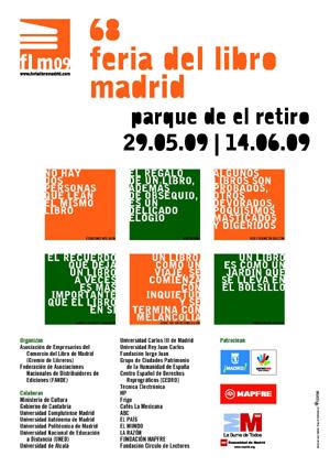 Cartel oficial de la Feria del Libro