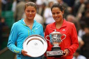 Final femenina de Roland Garros 2008