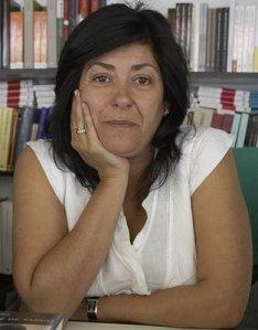 La escritora madrileña en la Feria del Libro de Madrid