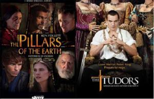 Los Pilares de la Tierra y Los Tudor