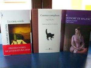 Adquisiciones: Vargas Llosa, Poe y Balzac