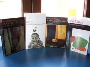 Préstamos: Murakami, Fo, Padura