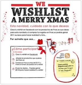 We wishlist a merry Xmas