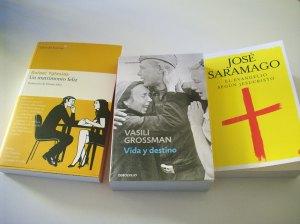 Novelas de Yglesias, Grossman y Saramago