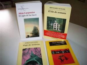 Nuevos libros: Carpentier, Schlink, Nothomb y Horby