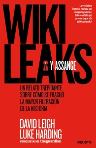 """Portada del libro """"Wikileaks y Assange""""."""