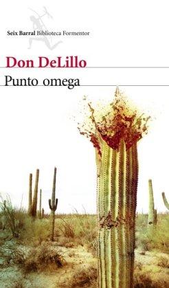"""Portada de """"Punto omega"""", de Don Delillo"""