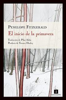 """Portada de """"El inicio de la primavera"""", de Fitzgerald"""