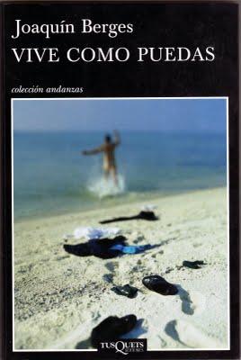 """Portada de """"Vive como puedas"""", de Joaquín Berges"""