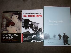 Libros de Solmssen, Cabrera Infante y Beevor