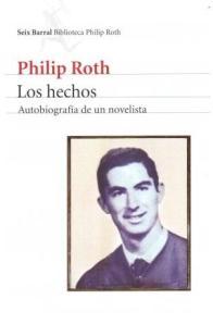 """Portada de """"Los hechos"""", de Roth."""