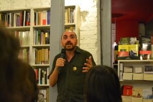 Enrique Redel durante su intervención