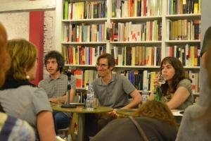 Carlos Pardo, Fernando San Basilio y Mercedes Cebrián