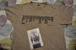 Camiseta y libro de Bierce