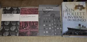 Libros de George V. Higgins, Jean Rolin y Ken Follet