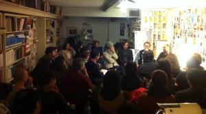 La sala de la Librería Rafael Alberti, abarrotada